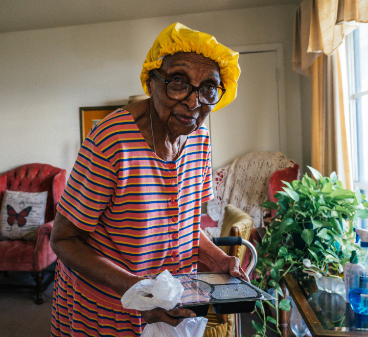 Meals on Wheels community check